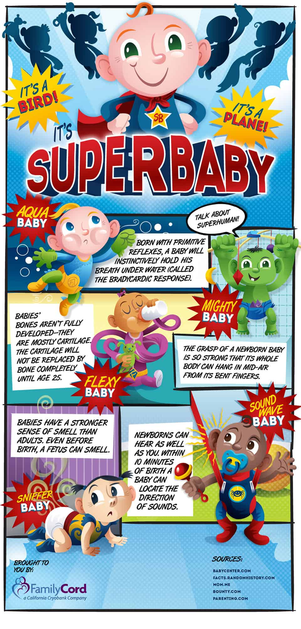 Superbaby Infographic