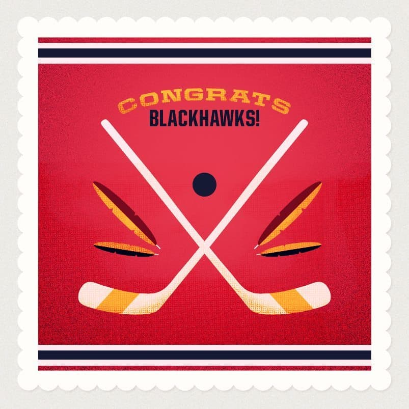 Blackhawks Graphic