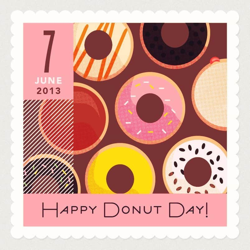 Happy Donut Day Graphic