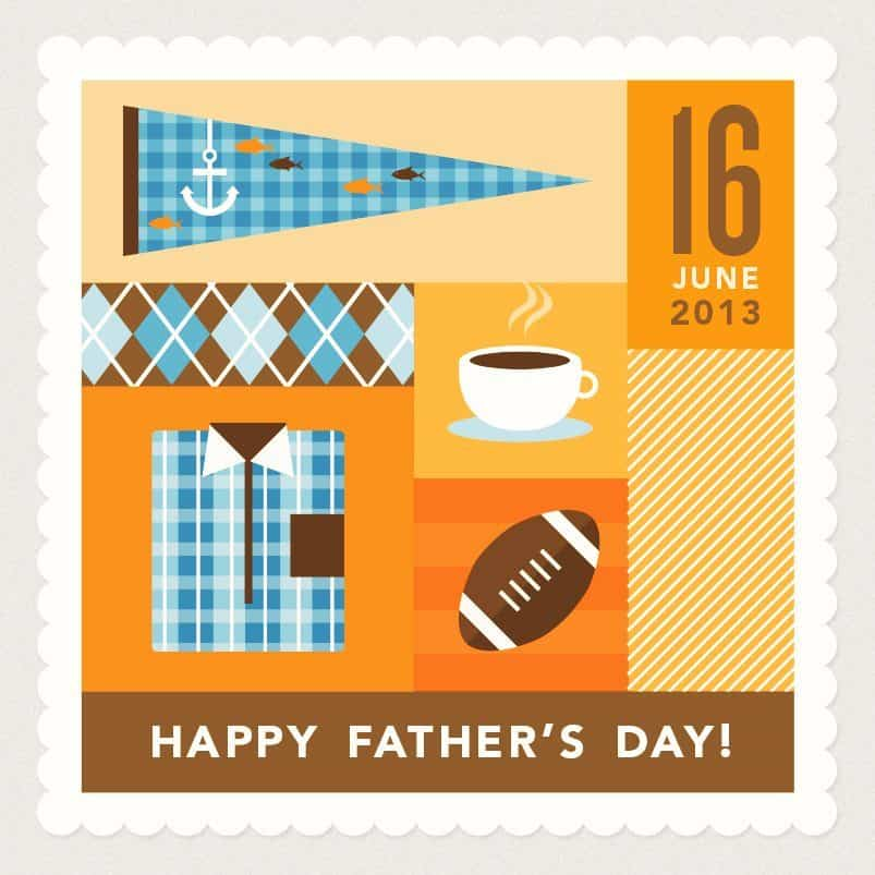 Happy Father's Day Graphic