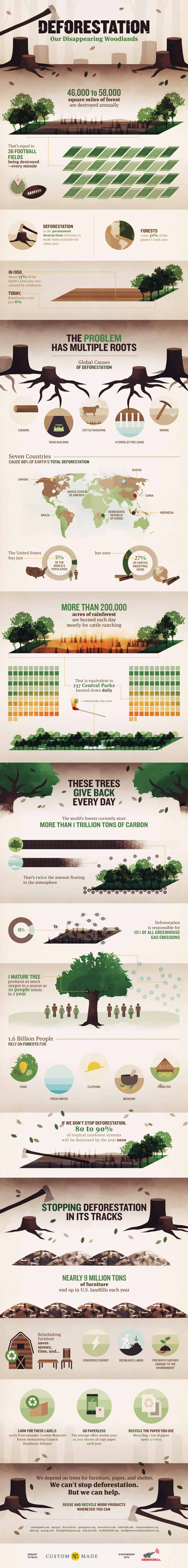 the effects of deforestation on our These are some of the major negative effects of deforestation on our environment that should not be ignored because deforestation is creating different natural time-bombs waiting to explode – we should stop pushing for deforestation before it's too late.