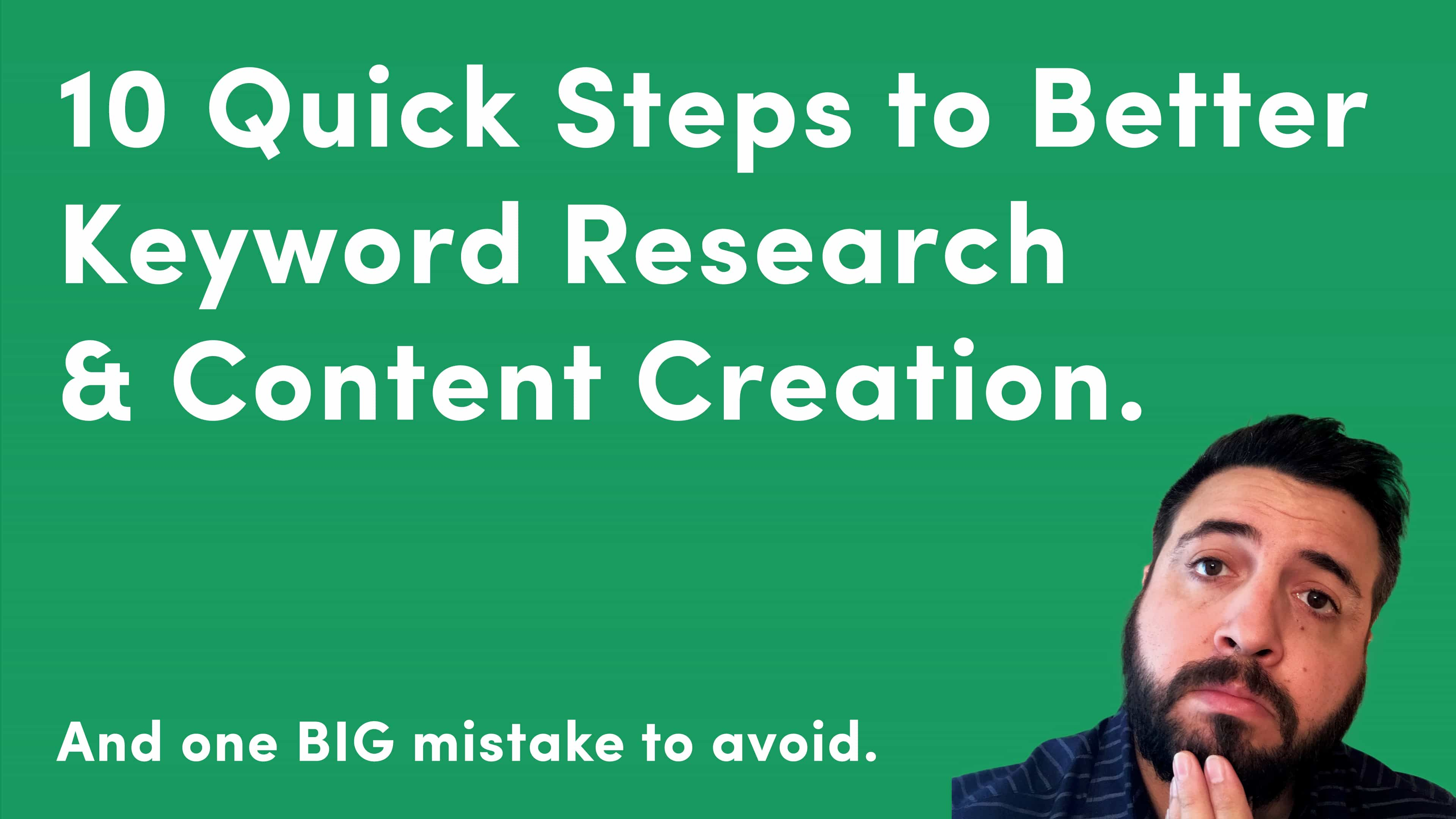 Why Search Intent Is the Secret to Superior Keyword Research